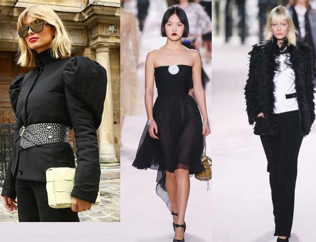 Chanel - каре на показах, варианты с челкой
