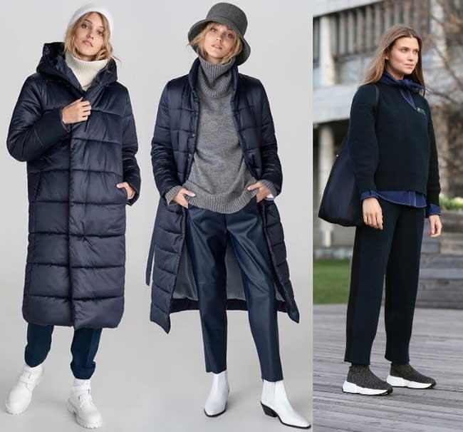Модные образы в синем цвете - тренд 2020