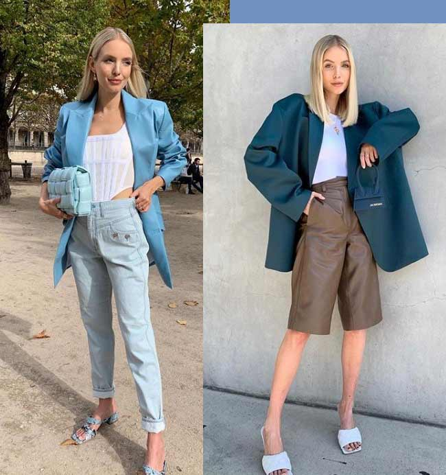 Тренд 2020 на одежду с акцентом на плечи