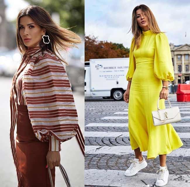 Тренд 2020 в одежде - объемные рукава