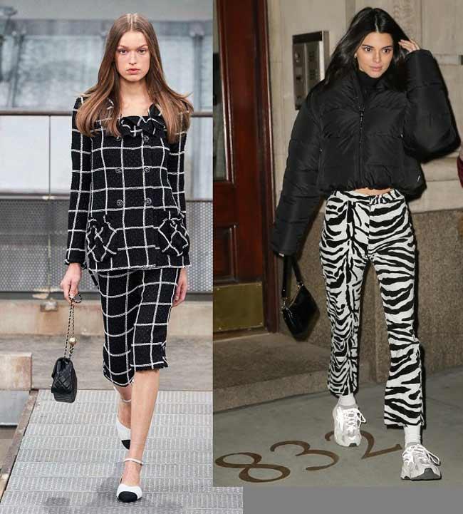 Тренды на модные принты 2020