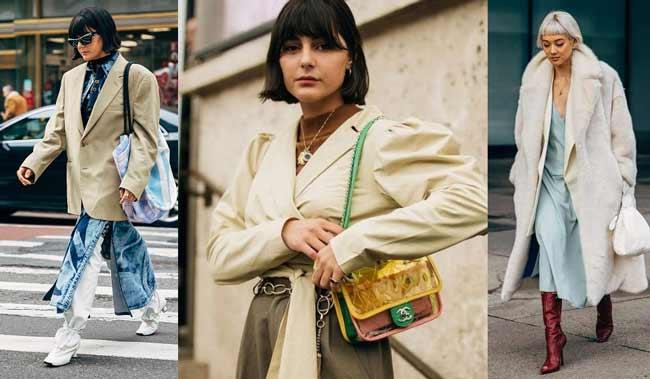 Модная стрижка каре-боб с челочкой - образы с недель моды