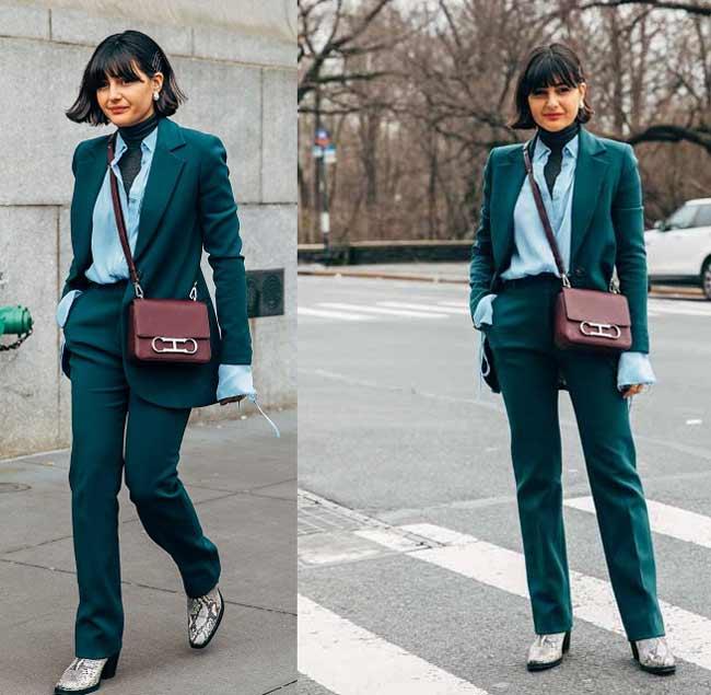 Модные образы со стрижкой каре 2020