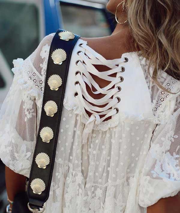 Кружево в платьях и сарафанах