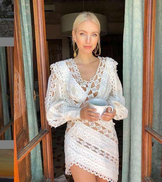 Белое платье фото