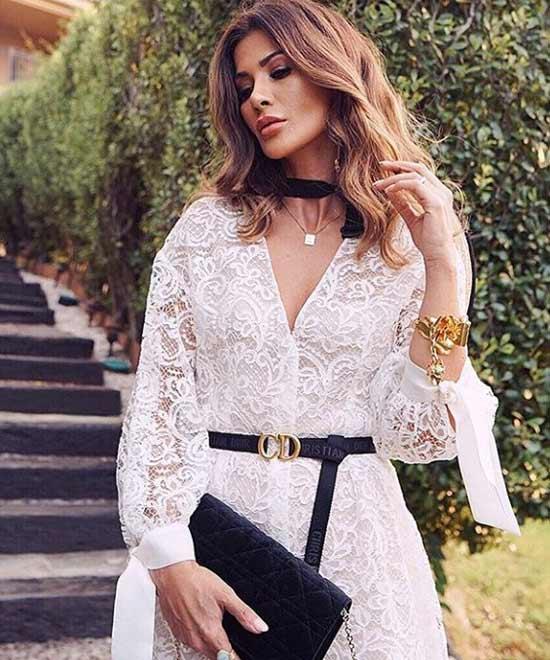Платье роскошное кружевное