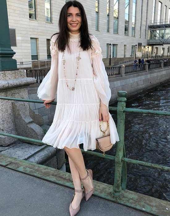 Образ с платьем