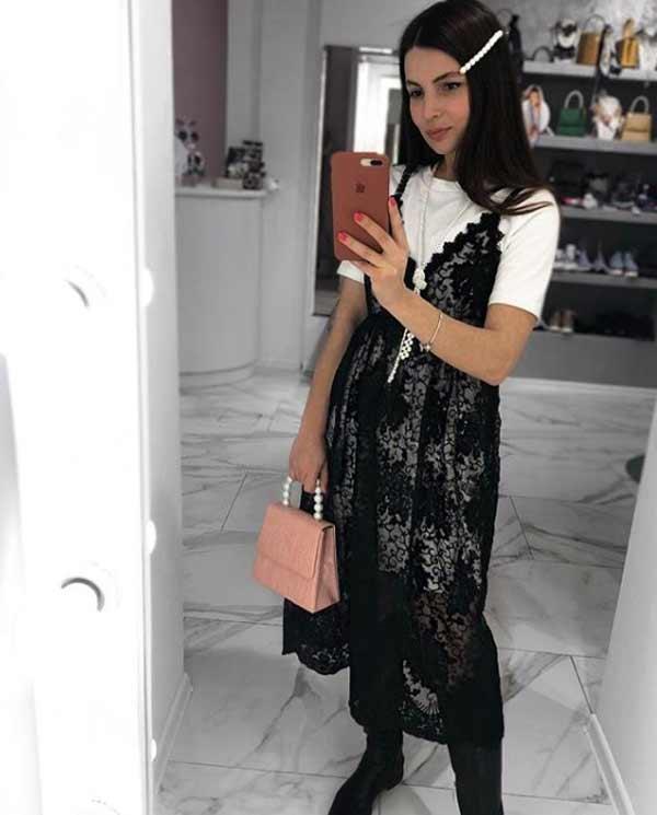 Кружевные платья туники