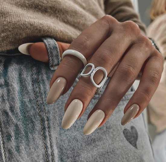Шикарный градиент на ногтях