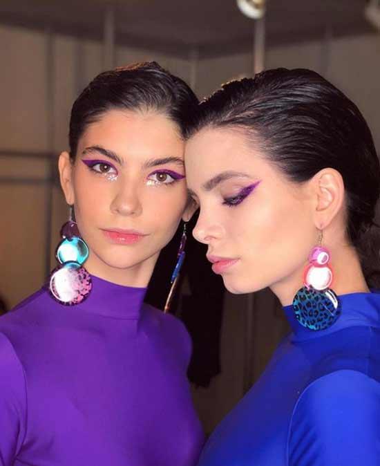 Модный make up с недели моды в Москве @janeonelove