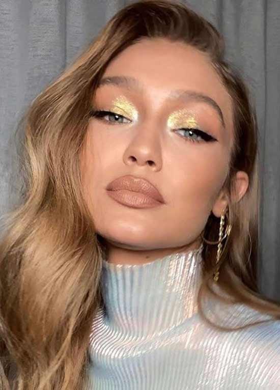 Модный макияж 2020 фото Джиджи Хадид