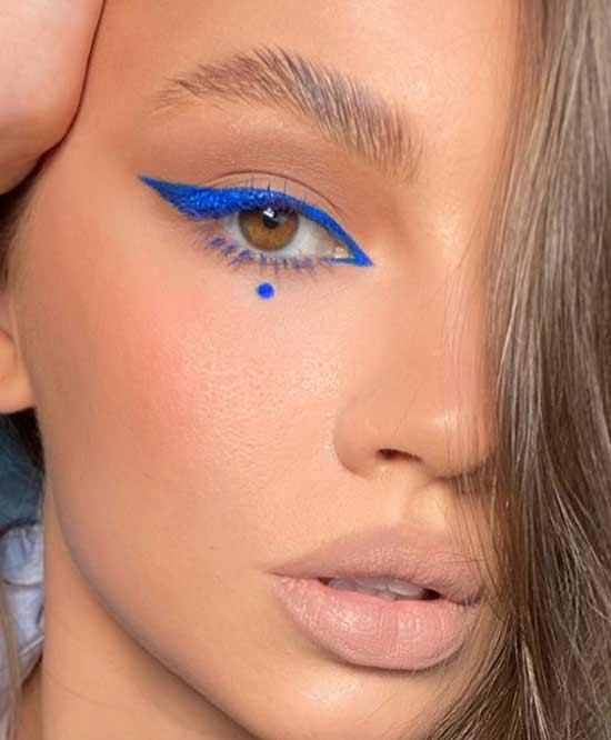 Синие модные стрелки