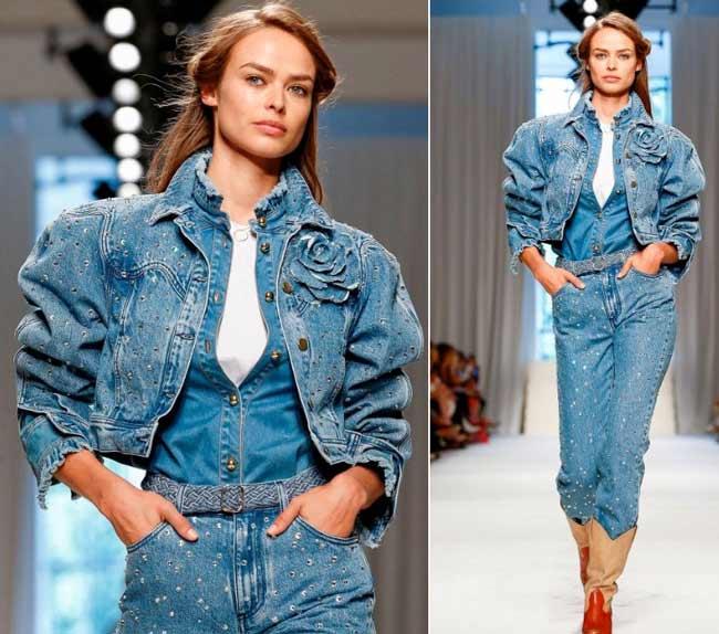 Мода 2020 на голубой деним