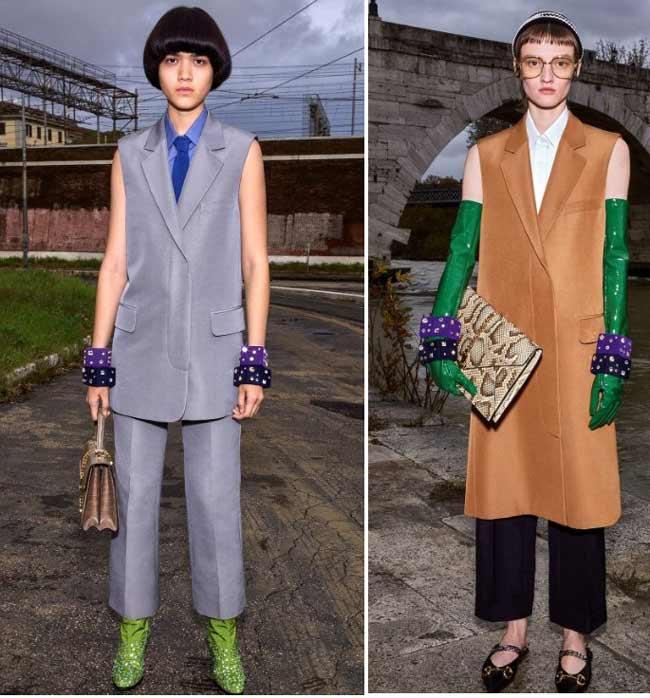 Модные женские жилеты в образах