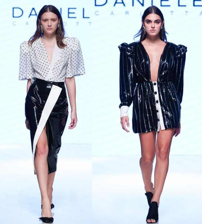 Модные вырезы и разрезы мода 2020