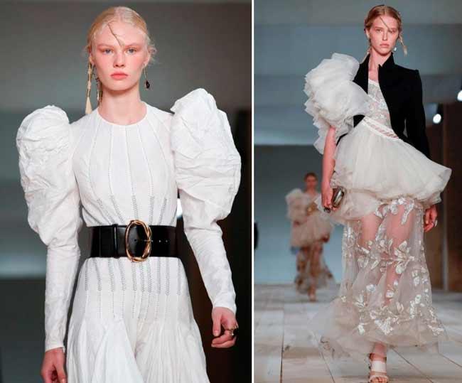 Модные пышные платья и юбки 2020
