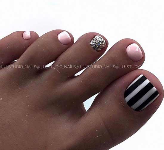 Красивая геометрия на ногтях