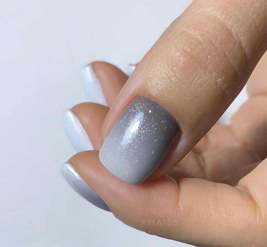 Красивый маникюр короткие ногти