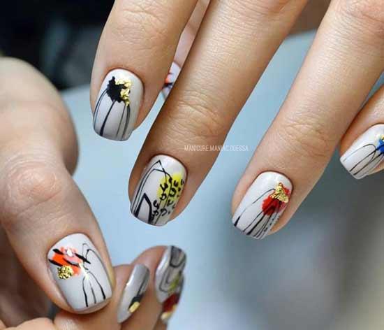 арт-хаус на ногтях