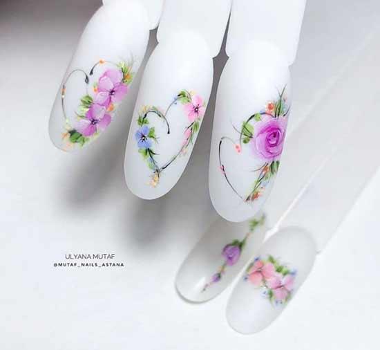 Рисунки нежных цветов