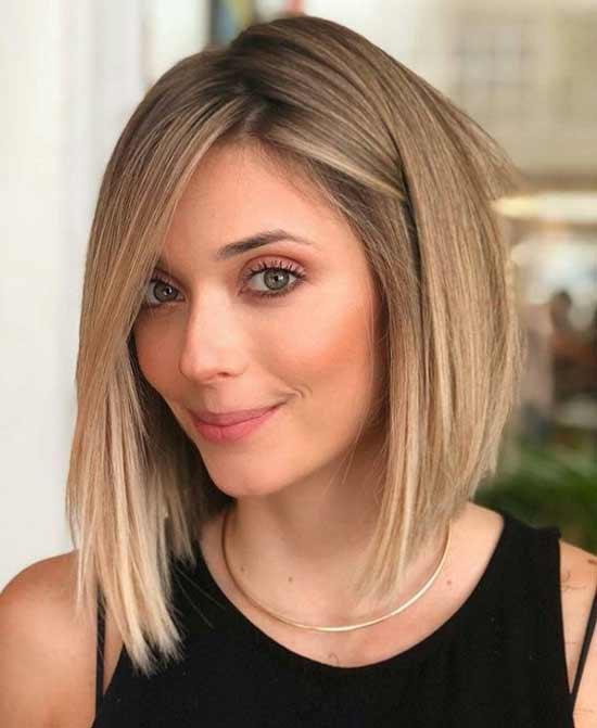 Золотистый модный цвет волос