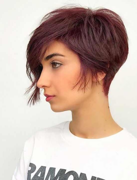 Модные красные оттенки на волосах