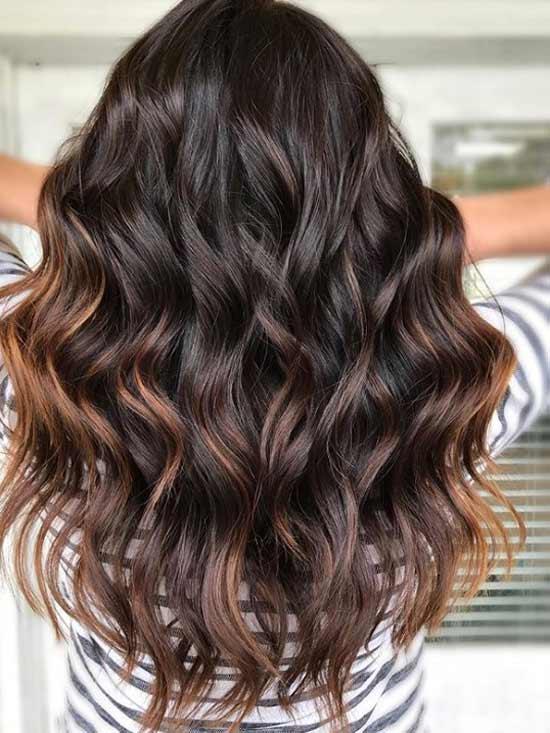 Красивый цвет волос