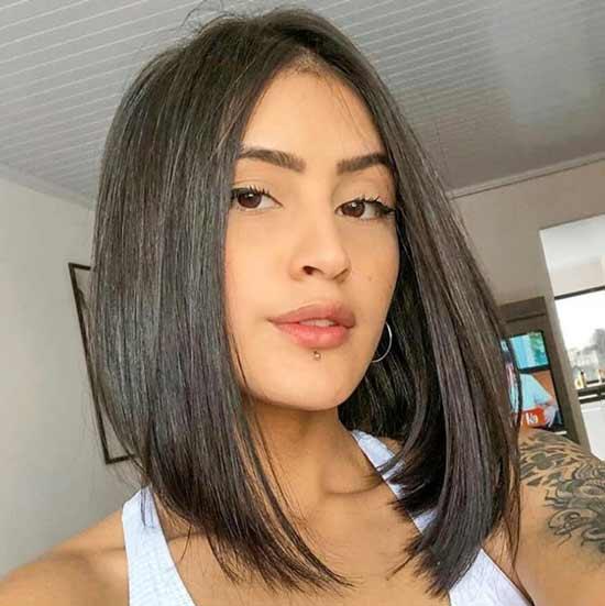 Темное натуральное окрашивание волос