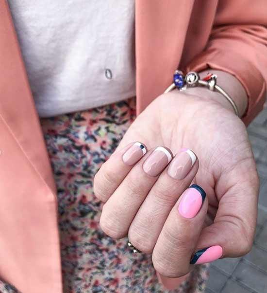Черные кончики ногтей