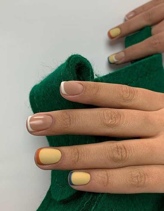 Цветной на 4 пальцах