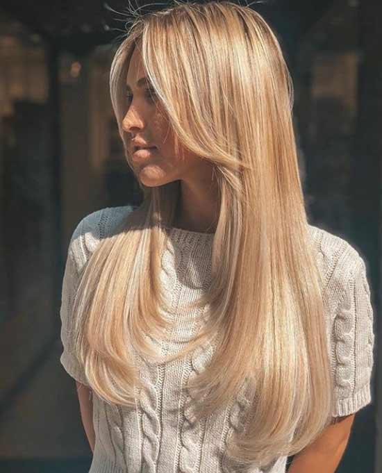 Естественная укладка длинные волосы