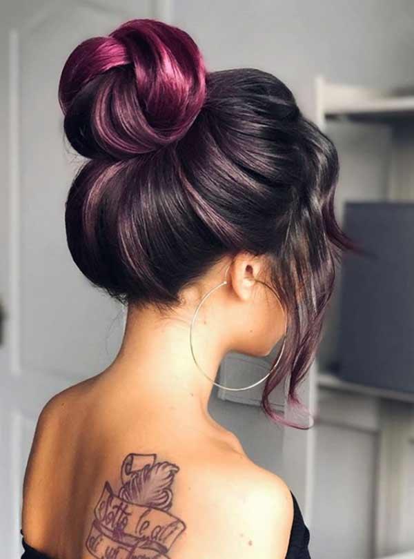 Фото примеры как уложить модно волосы