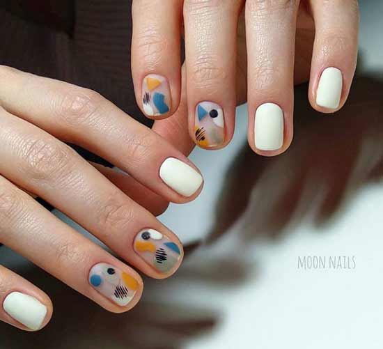 Геометрия на коротких ногтях