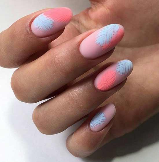 Нежнейшие рисунки на ногтях