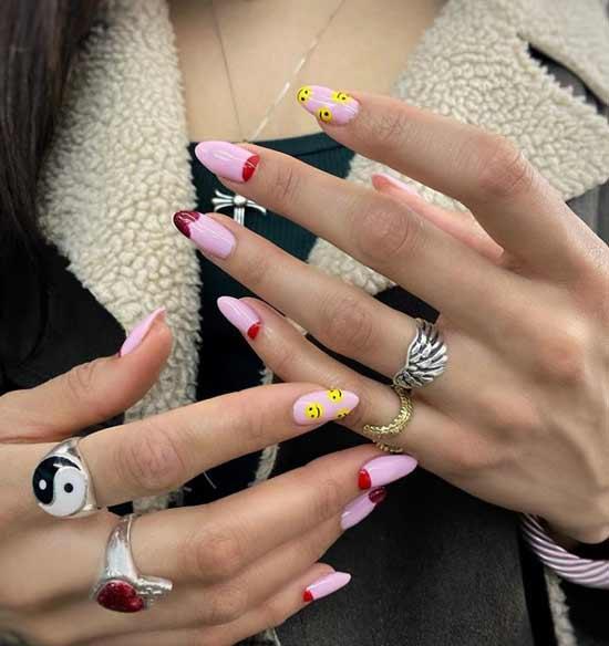 Милые длинные ногти