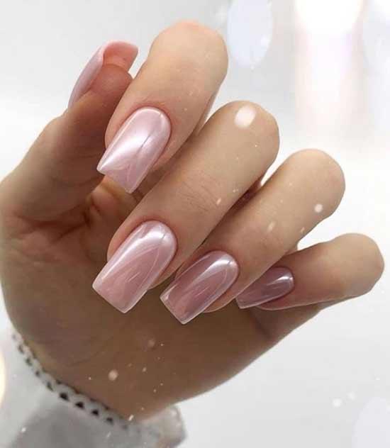 Перламутровый розовый