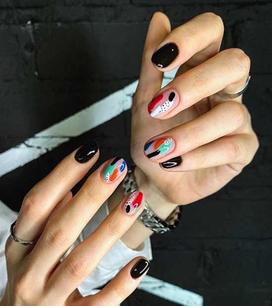 Модный дизайн ногтей 2020