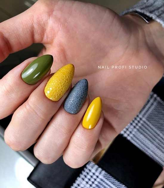 Модная форма ногтей 2020