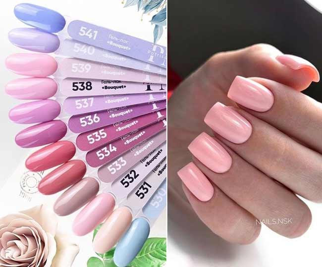 Модная цветовая палитра гель-лаков весна-лето 2020