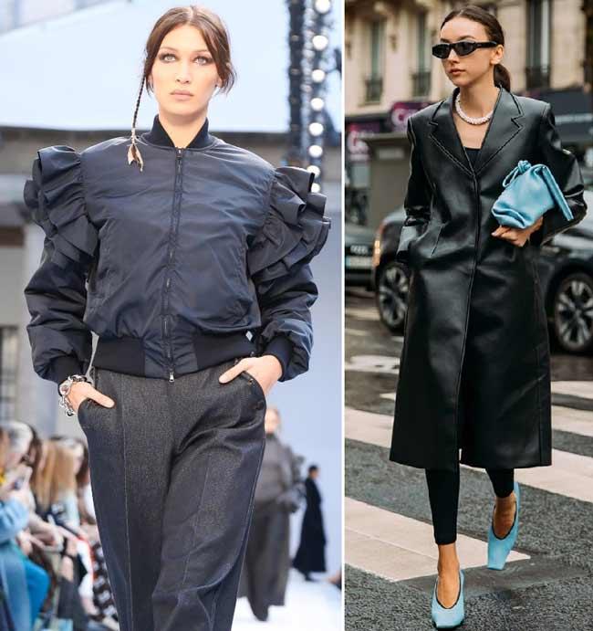 Модная верхняя одежда 2020-2021
