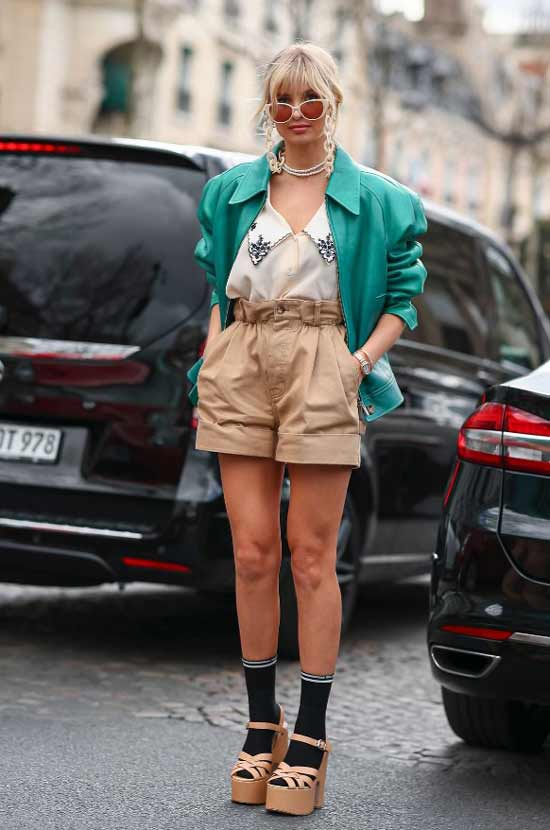Модные босоножки на платформе