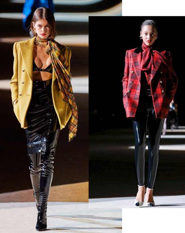 Примеры модной обуви Saint Laurent 2020
