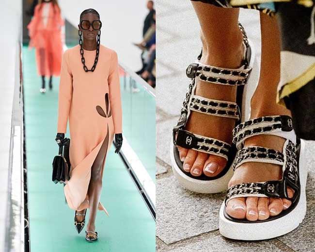 Модная обувь chanel