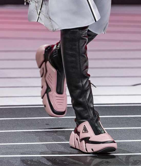 Prada модная обувь
