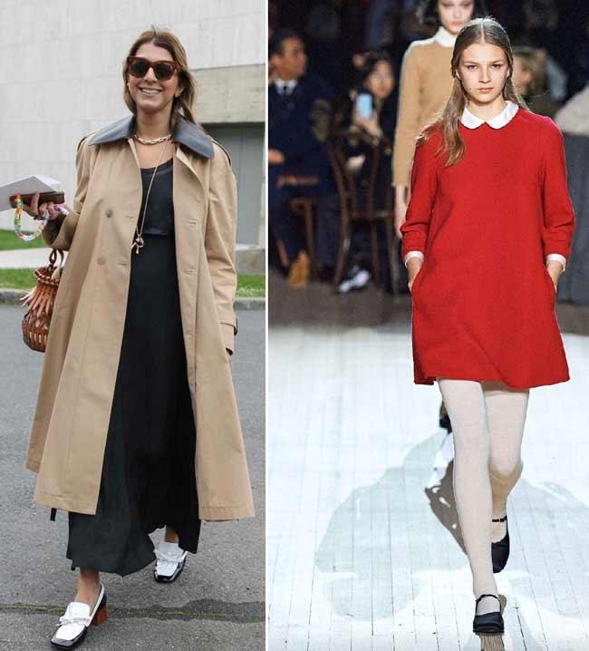 Образы с модной обувью 2020