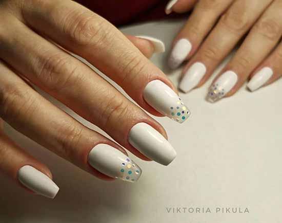 Белый маникюр 2020: фото-дизайн ногтей, 100 красивых новинок
