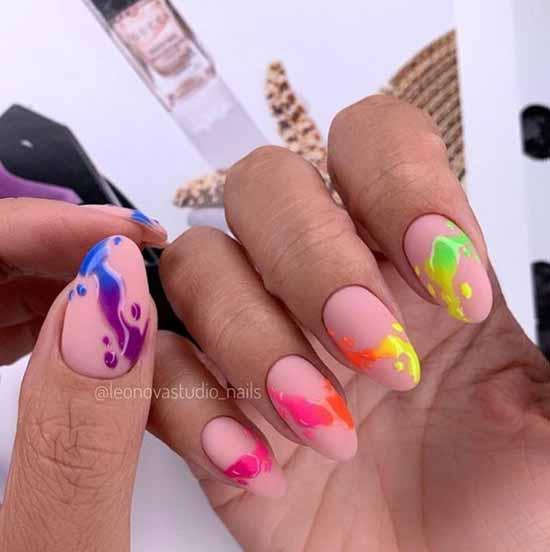 Дизайн ногтей с рисунком: 101 фото, идеи, новинки маникюра