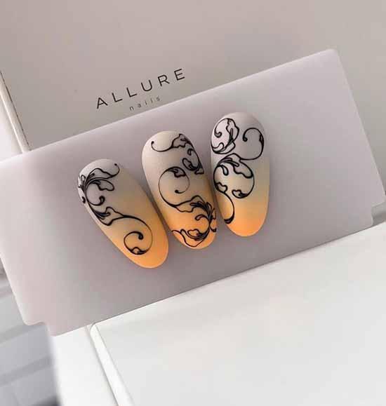 Дизайн ногтей градиент: фото, 100 лучших идей для маникюра