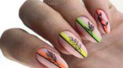 Дизайн ногтей с полосками: 100 фото, новые идеи маникюра