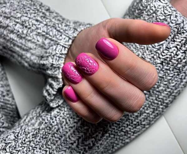 Дизайн ногтей мыльной пеной